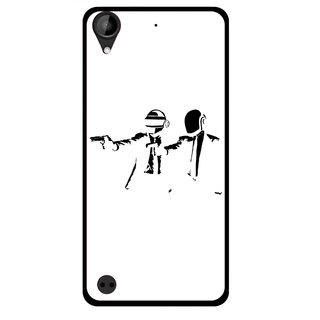 Snooky Printed Gangster Mobile Back Cover For HTC Desire 630 - Multi