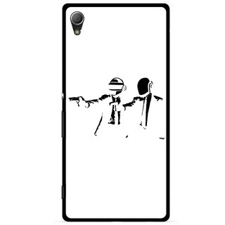 Snooky Printed Gangster Mobile Back Cover For Sony Xperia Z4 - Multi
