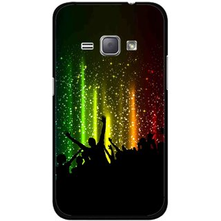 Snooky Printed Party Time Mobile Back Cover For Samsung Galaxy J1 - Multicolour