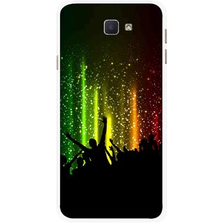 Snooky Printed Party Time Mobile Back Cover For Samsung Galaxy J7 Prime - Multicolour