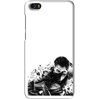 Snooky Printed Commando Mobile Back Cover For Huawei Honor 6 - Multi