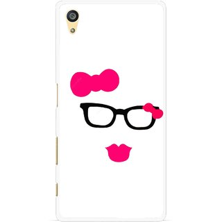 Snooky Printed Pinky Girl Mobile Back Cover For Sony Xperia Z5 - Multi