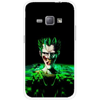 Snooky Printed Daring Joker Mobile Back Cover For Samsung Galaxy J1 - Multicolour