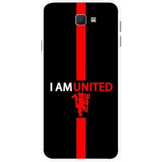 Snooky Printed United Mobile Back Cover For Samsung Galaxy J7 Prime - Multicolour