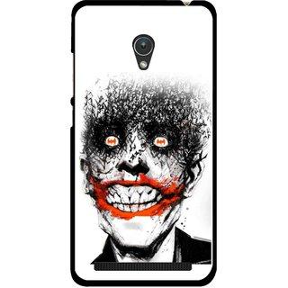 Snooky Printed Joker Mobile Back Cover For Asus Zenfone 5 - Multicolour