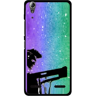 Snooky Printed Sparkling Boy Mobile Back Cover For Lenovo A6000 Plus - Multi