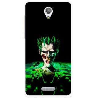 Snooky Printed Daring Joker Mobile Back Cover For Gionee Marathon M4 - Multicolour
