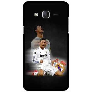 Snooky Printed Football Champion Mobile Back Cover For Samsung Galaxy On7 - Multicolour