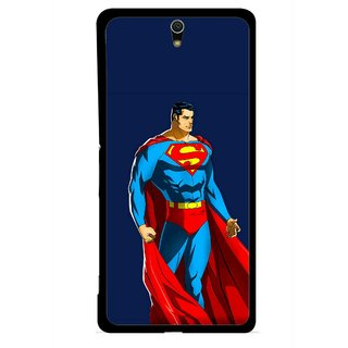 Snooky Printed Super Hero Mobile Back Cover For Sony Xperia C5 - Multicolour