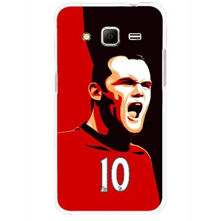 Snooky Printed Sports ManShip Mobile Back Cover For Samsung Galaxy Core Prime - Black