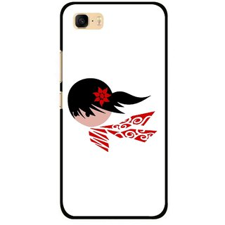 Snooky Printed Caty Girl Mobile Back Cover For Asus Zenfone 3s Max ZC521TL - Multi