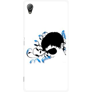 Snooky Printed Stylo Man Mobile Back Cover For Sony Xperia Z3 Plus - Multi