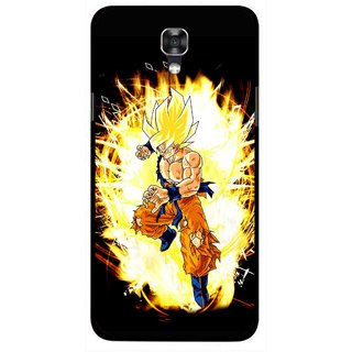Snooky Printed Angry Man Mobile Back Cover For Lg X Screen - Black