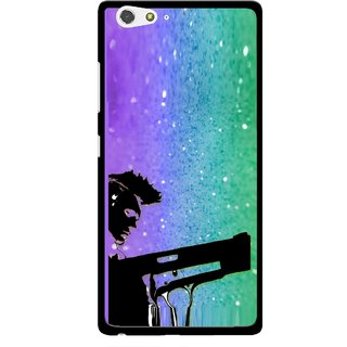 Snooky Printed Sparkling Boy Mobile Back Cover For Gionee Elife S6 - Multi