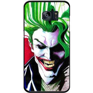 Snooky Printed Joker Mobile Back Cover For Samsung Galaxy S7 Edge - Multicolour