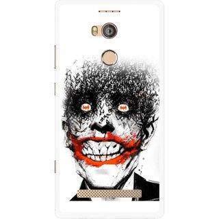Snooky Printed Joker Mobile Back Cover For Gionee Elife E8 - Multicolour