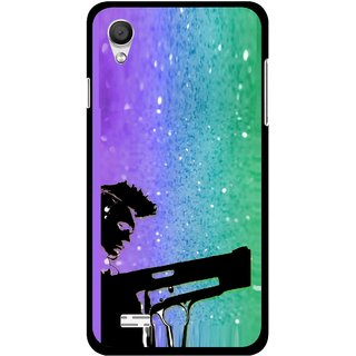 Snooky Printed Sparkling Boy Mobile Back Cover For Vivo Y11 - Multi