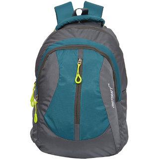 Flora Grey C Green Backpack