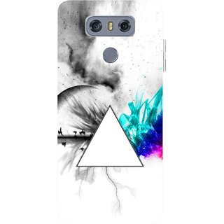 Snooky Printed Math Art Mobile Back Cover For LG G6 - Multicolour