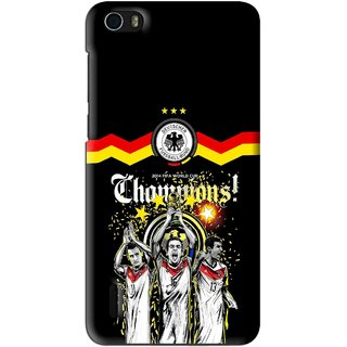 Snooky Printed Champions Mobile Back Cover For Huawei Honor 6 - Multi