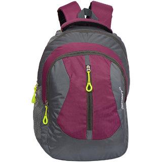 Flora Grey D Pink Backpack