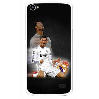 Snooky Printed Football Champion Mobile Back Cover For Intex Aqua Star 2 HD - Multi
