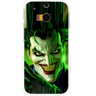 Snooky Printed Horror Wilian Mobile Back Cover For HTC One M8 - Multicolour