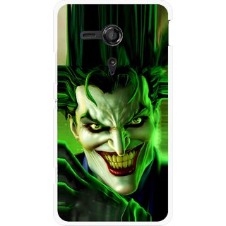 Snooky Printed Horror Wilian Mobile Back Cover For Sony Xperia SP - Multicolour