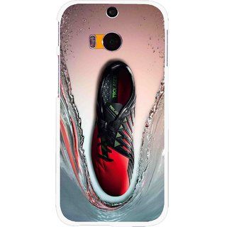 Snooky Printed Water Mobile Back Cover For HTC One M8 - Multicolour