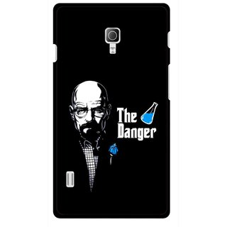 Snooky Printed The Danger Mobile Back Cover For Lg Optimus L7 II P715 - Multicolour