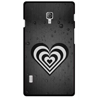 Snooky Printed Hypro Heart Mobile Back Cover For Lg Optimus L7 II P715 - Multicolour