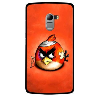 Snooky Printed Wouded Bird Mobile Back Cover For Lenovo K4 Note - Multicolour
