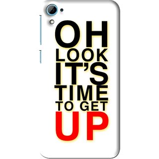 Snooky Printed Get Up Mobile Back Cover For HTC Desire 826 - Multi