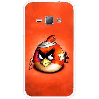 Snooky Printed Wouded Bird Mobile Back Cover For Samsung Galaxy J1 - Multicolour