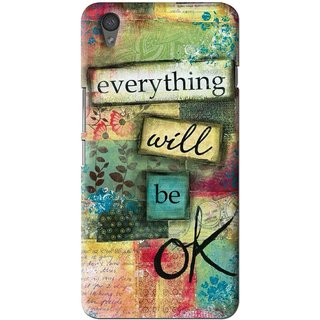 Snooky Printed Will Ok Mobile Back Cover For One Plus X - Multi