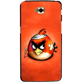 Snooky Printed Wouded Bird Mobile Back Cover For Lg G Pro Lite - Multicolour