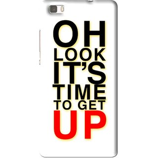 Snooky Printed Get Up Mobile Back Cover For Huawei Ascend P8 Lite - Multi
