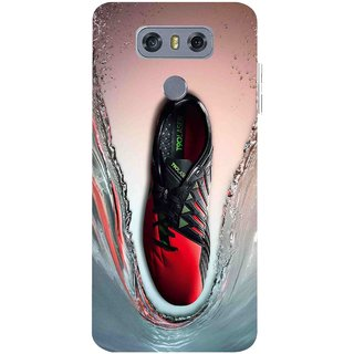 Snooky Printed Water Mobile Back Cover For LG G6 - Multicolour