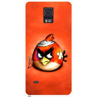 Snooky Printed Wouded Bird Mobile Back Cover For Samsung Galaxy Note 4 - Multicolour