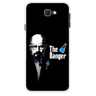 Snooky Printed The Danger Mobile Back Cover For Samsung Galaxy J5 Prime - Multicolour