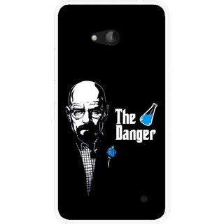 Snooky Printed The Danger Mobile Back Cover For Nokia Lumia 640 - Multicolour