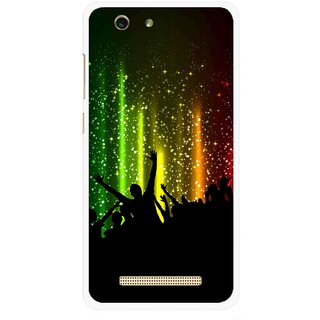Snooky Printed Party Time Mobile Back Cover For Gionee F103 pro - Multi