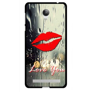 Snooky Printed Love You Mobile Back Cover For Vivo Y28 - Multicolour