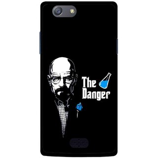 Snooky Printed The Danger Mobile Back Cover For Oppo Neo 5 - Multicolour