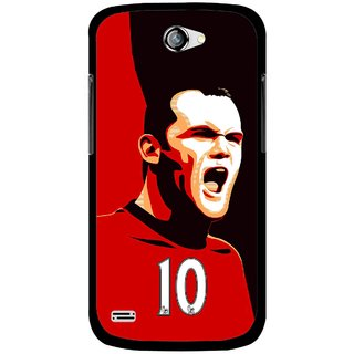 Snooky Printed Sports ManShip Mobile Back Cover For Gionee Pioneer P3 - Multicolour