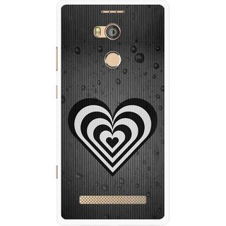 Snooky Printed Hypro Heart Mobile Back Cover For Gionee Elife E8 - Multicolour