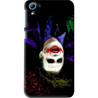 Snooky Printed Hanging Joker Mobile Back Cover For HTC Desire 826 - Multi