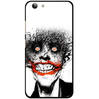 Snooky Printed Joker Mobile Back Cover For Vivo Y53 - Multi
