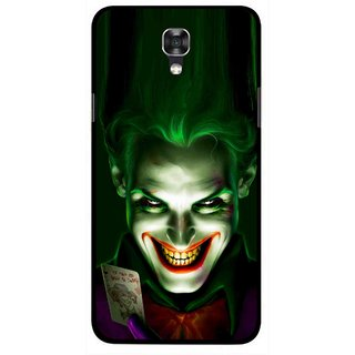 Snooky Printed Loughing Joker Mobile Back Cover For Lg X Screen - Green