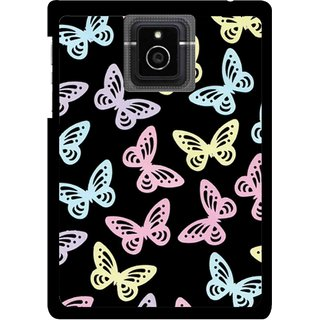 Snooky Printed Butterfly Mobile Back Cover For Blackberry Passport - Multicolour